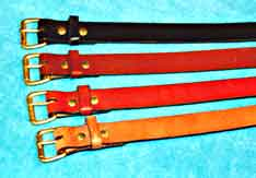 Schaaf's Leather Belts